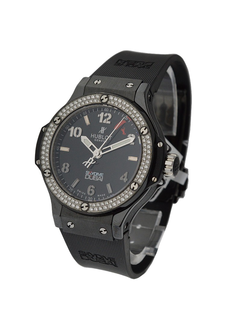 Hublot Big Bang Black Magic Diamonds Skydive Dubai