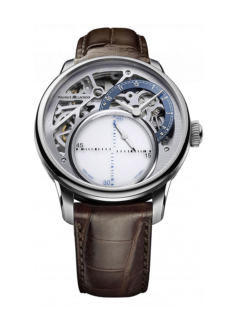 Maurice Lacroix Masterpiece Seconde Mysterieuse Automatic in Steel