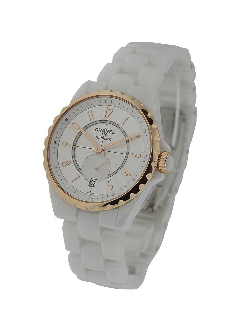 Chanel J12  White Classic H3839