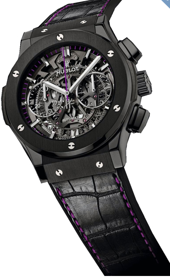 Hublot Classic Fusion 45mm Aero Womanity in Black Ceramic