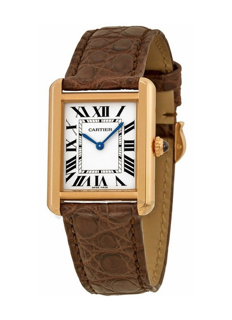 Cartier Tank Solo Small  in Rose GOld