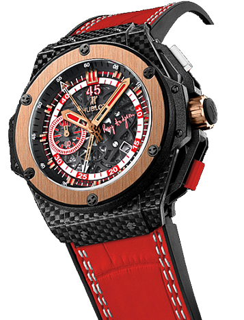 Hublot King Power 66 Hodgson Mens 48mm in Carbon Fiber