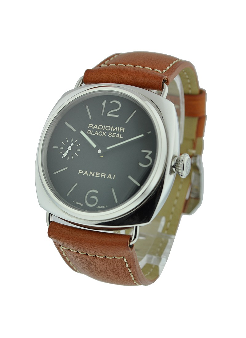 Panerai PAM 183   Black Seal Radiomir in Steel