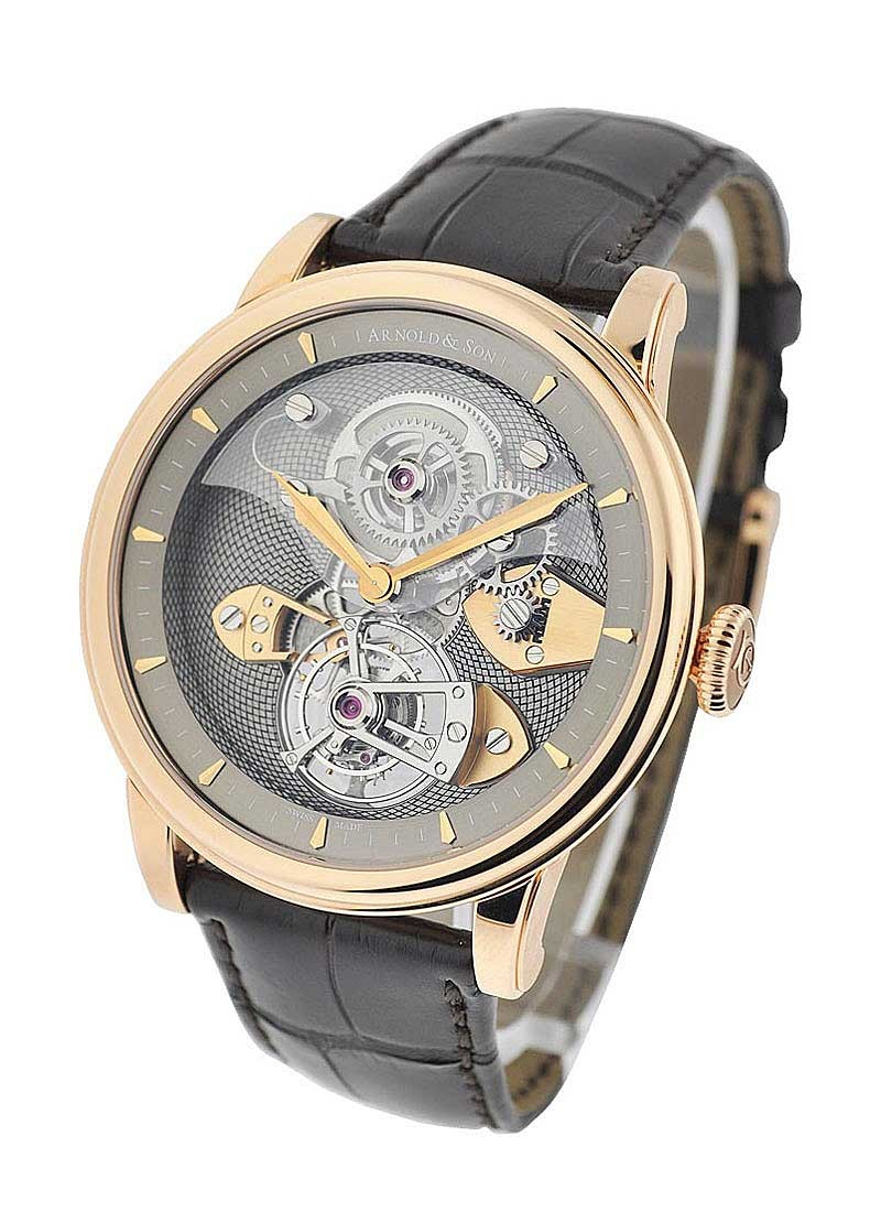 Arnold and Son Royal COllection TES Tourbillon in Rose Gold