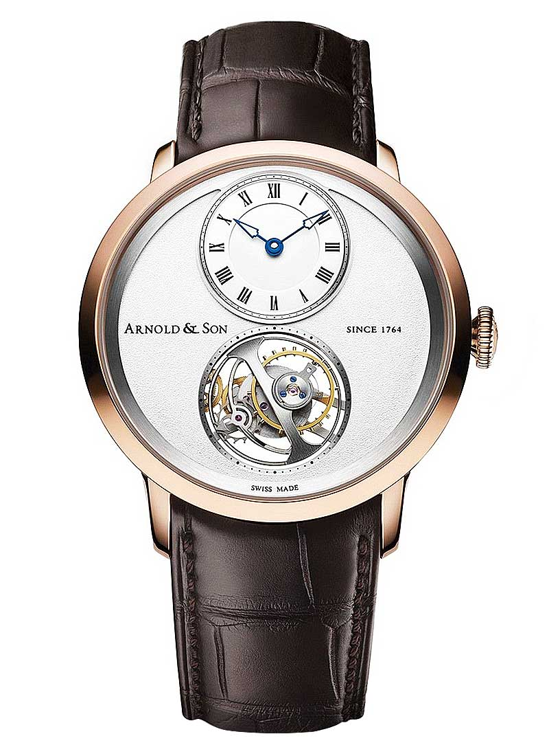 Arnold and Son UTTE Series 42mm in Rose Gold