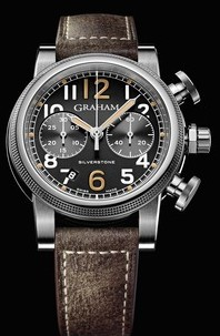 Graham Graham 1965 Silverstone Mens 44mm Automatic in Steel