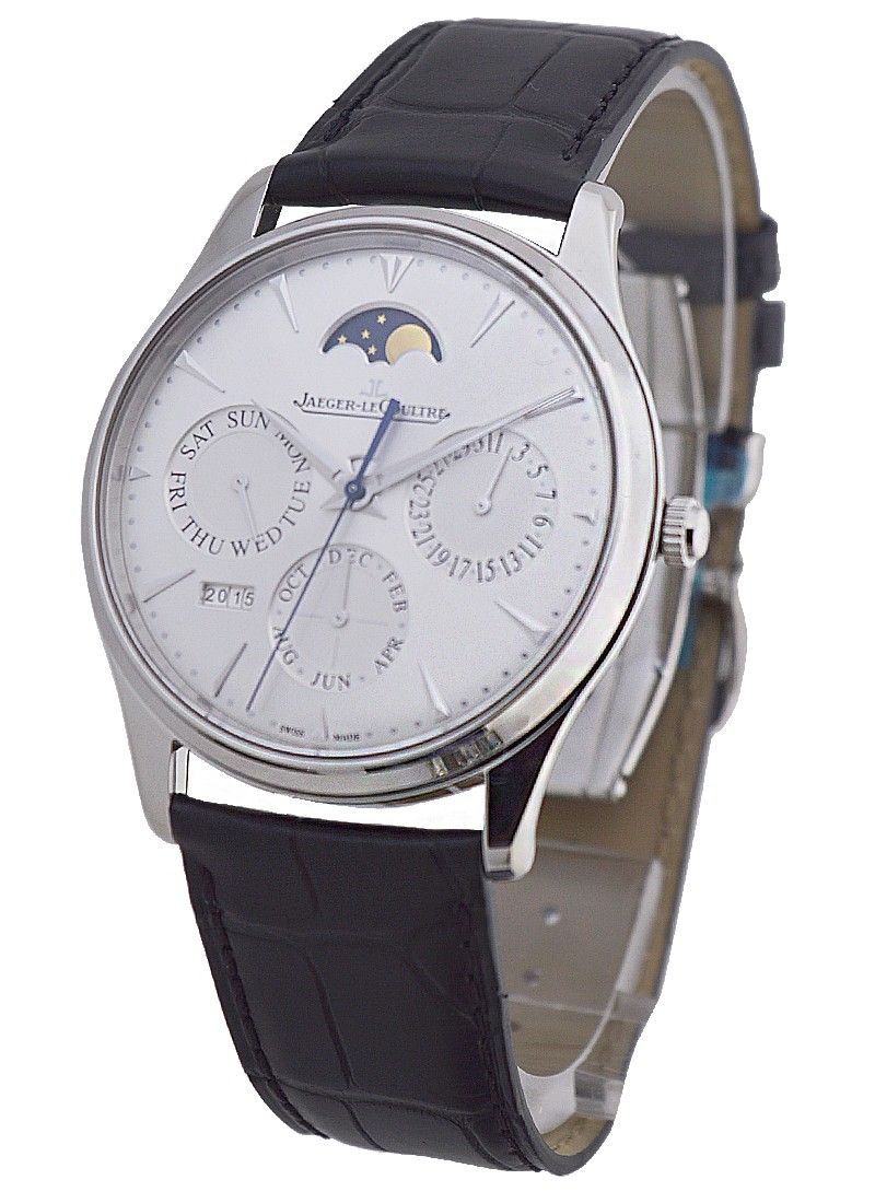 Jaeger - LeCoultre Master Control Ultra Thin Perpetual Calendar in Steel