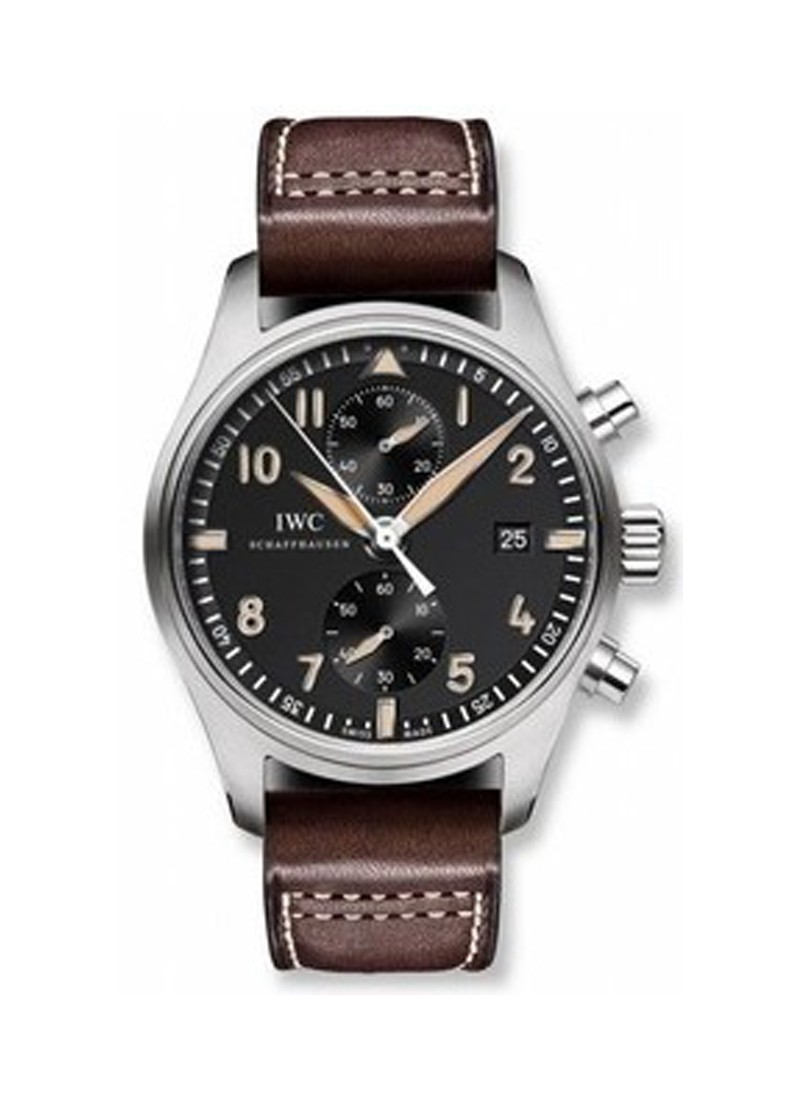 IWC Pilot Chornograph Collectors Automatic in Steel