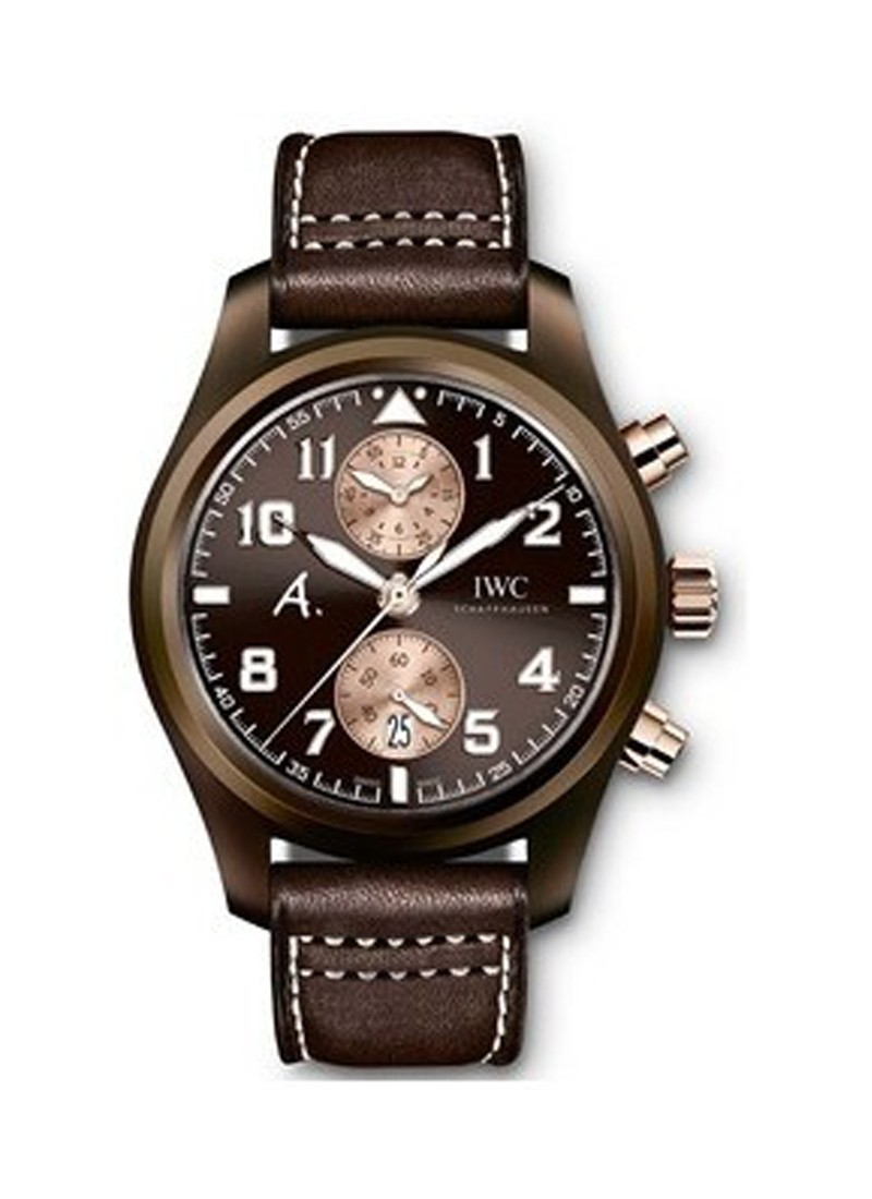 IWC Pilot Chronograph The Last Flight in Brown Ceramic