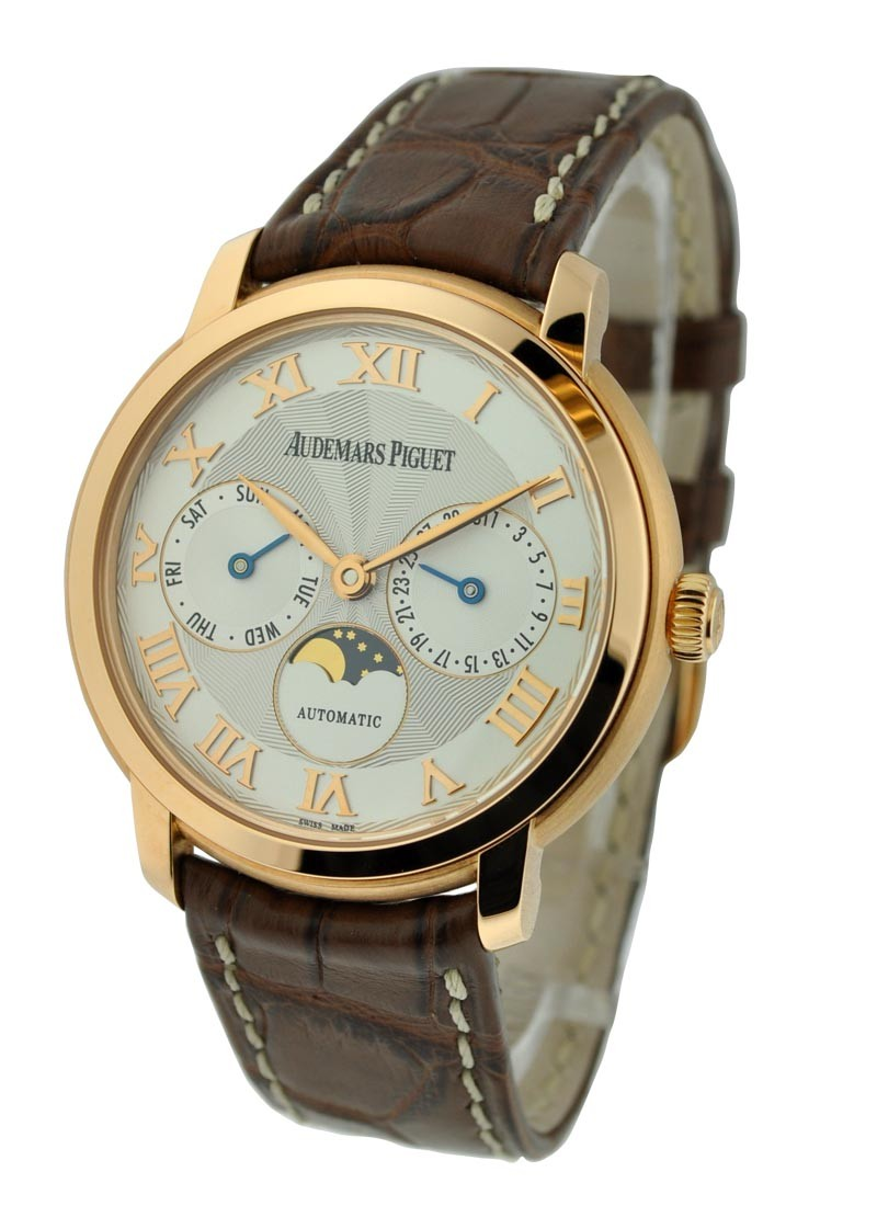 Audemars Piguet Jules Audemars Day and Date in Rose Gold