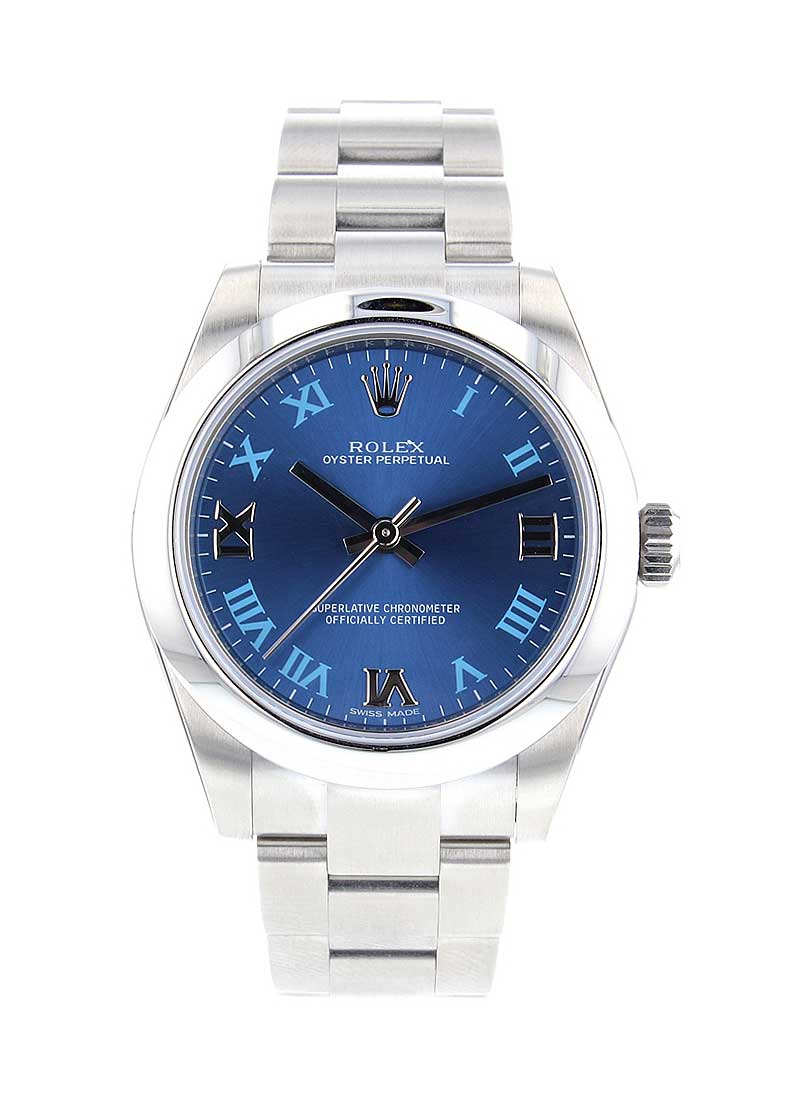 Rolex Unworn Oyster Perpetual in Steel with Smooth Bezel