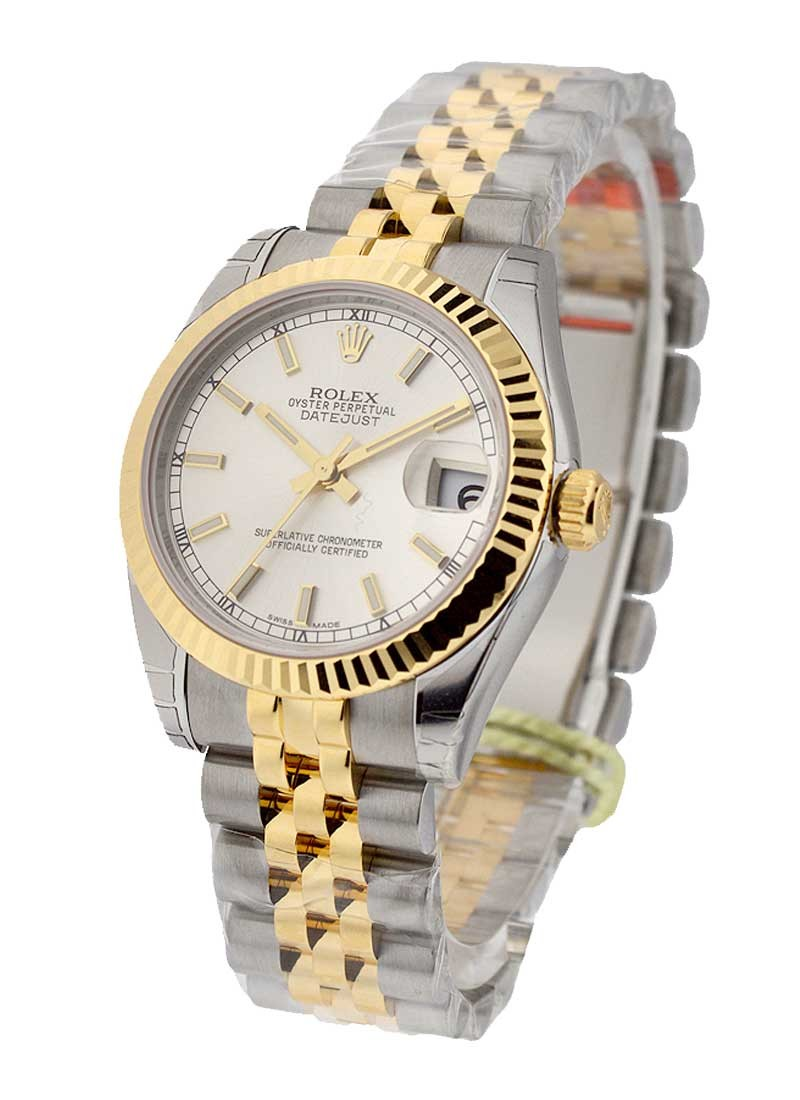 Rolex Unworn Midsize 31mm Datejust Midsize 2-Tone