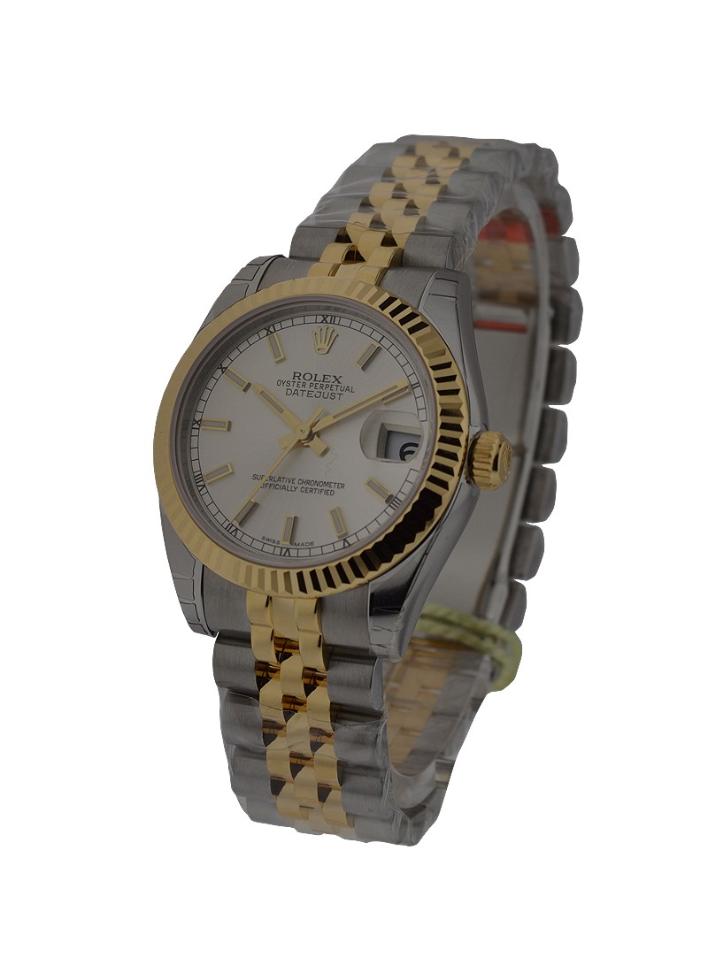 Rolex Unworn Midsize 31mm Datejust Midsize 2 Tone