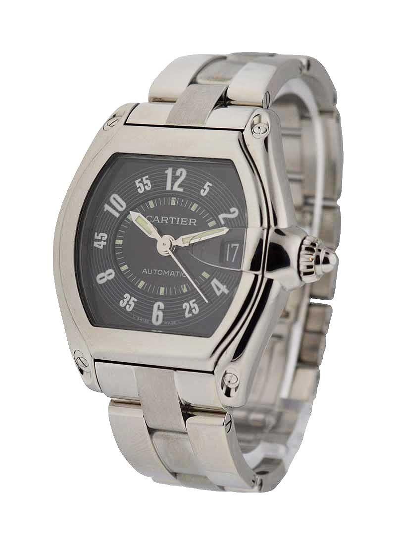 Cartier Roadster Mens Large in Steel