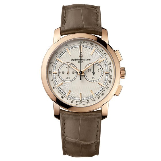 Vacheron Constantin Patrimony Traditionnelle Chronograph Paris Boutique in Rose Gold