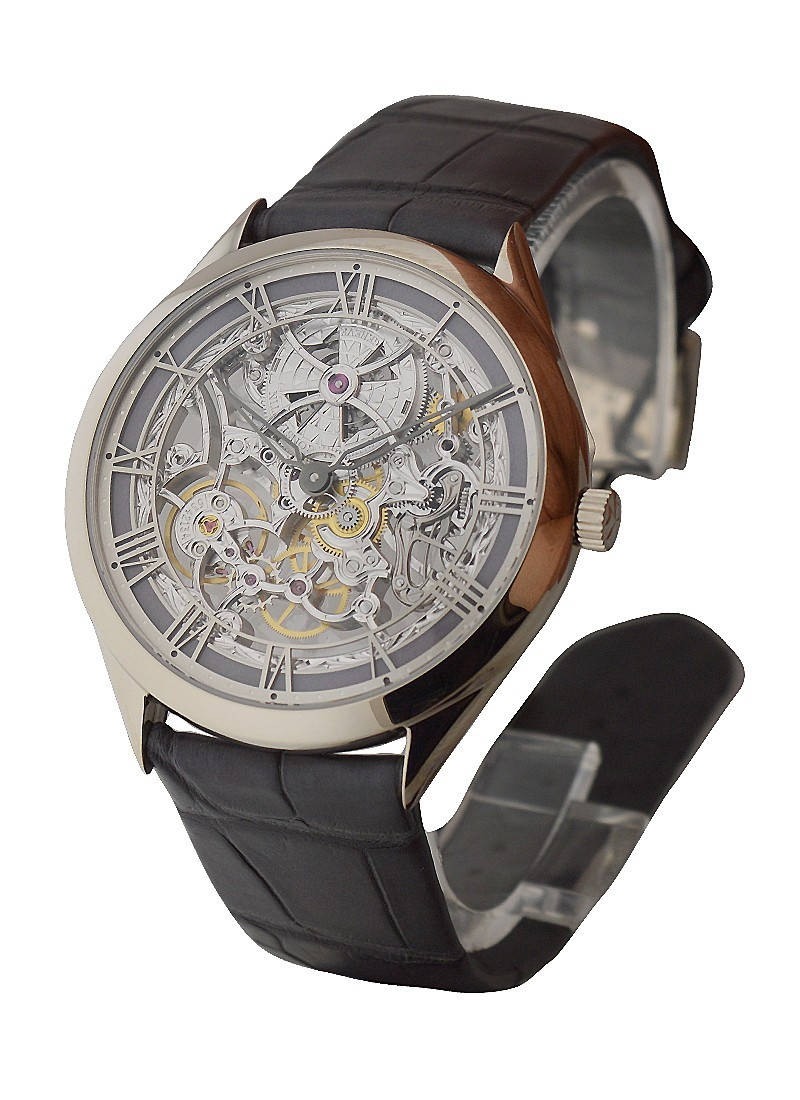 Vacheron Constantin Metiers d'Art Skeleton in White Gold