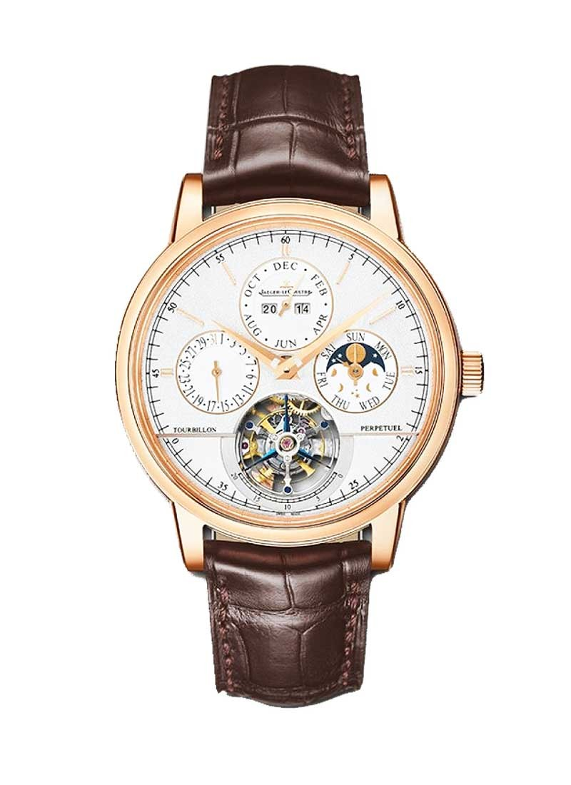 Jaeger - LeCoultre Master Grande Tradition Tourbillon 42mm in Rose Gold