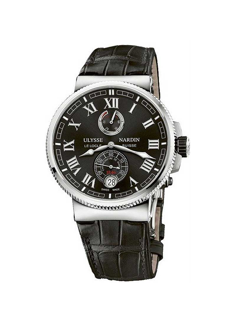 Ulysse Nardin Marine Chronometer 43mm Automatic in Steel