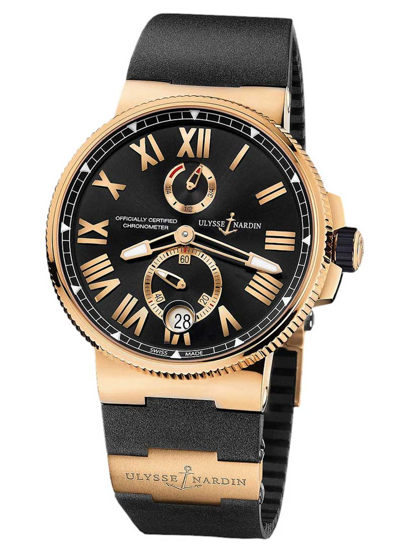Ulysse Nardin Marine Chronometer  45mm Automatic in Rose Gold