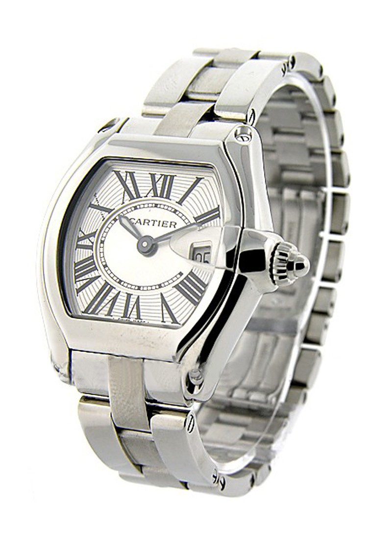 Cartier Roadster 30mm Quartz in Steel
