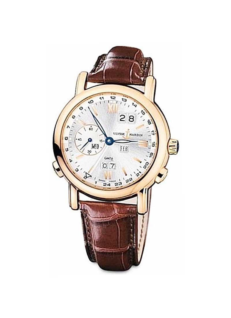 Ulysse Nardin GMT Perpetual 40mm Automatic in Rose Gold