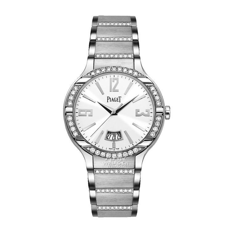 Piaget Polo Ultra Thin 40mm in White Gold with Diamond Bezel