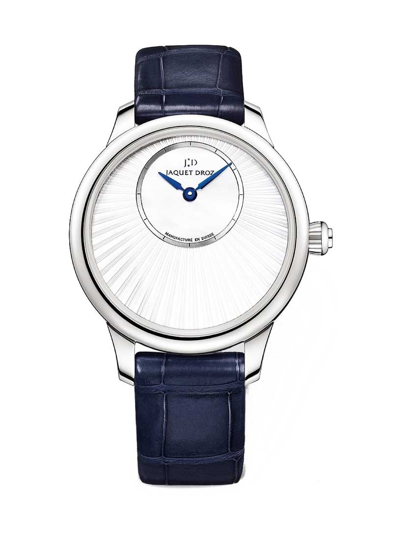 Jaquet Droz Petite Heure Minute Ladies 35mm Automatic - White Gold