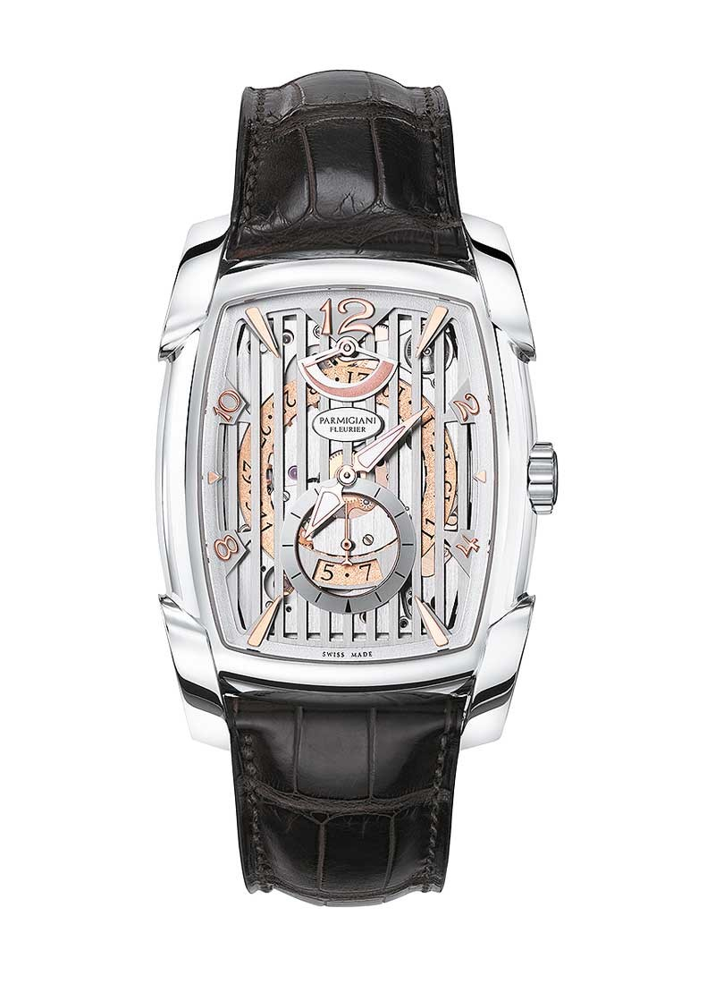 Parmigiani Kalpa XL Hebdomadaire Mens Manual in White Gold