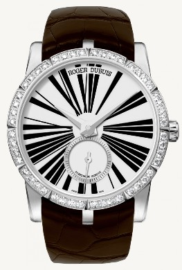 Roger Dubuis Excalibur 36mm Automatic - Steel - Diamond Bezel