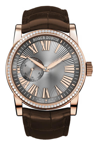 Roger Dubuis Hommage Mens 42mm Automatic in Rose Gold