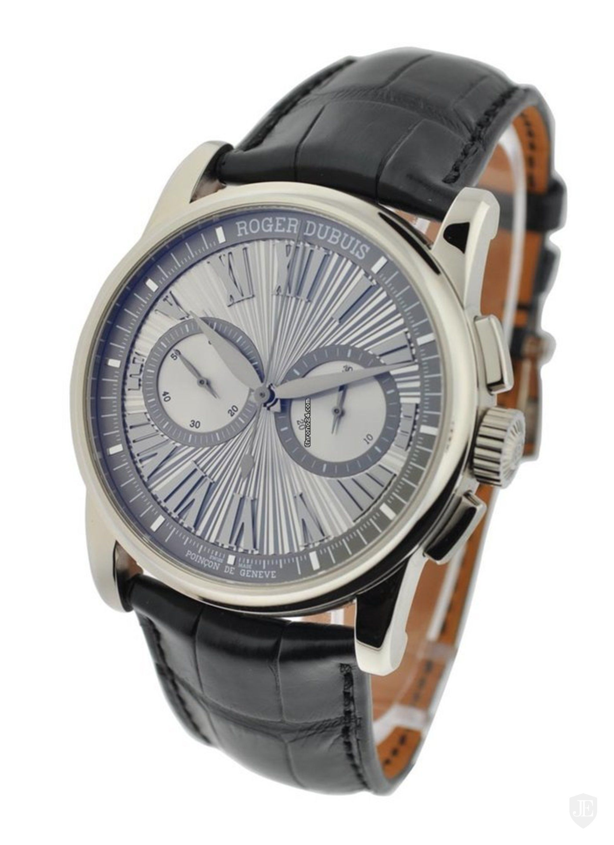Roger Dubuis Hommage Mens 42mm Automatic in White Gold