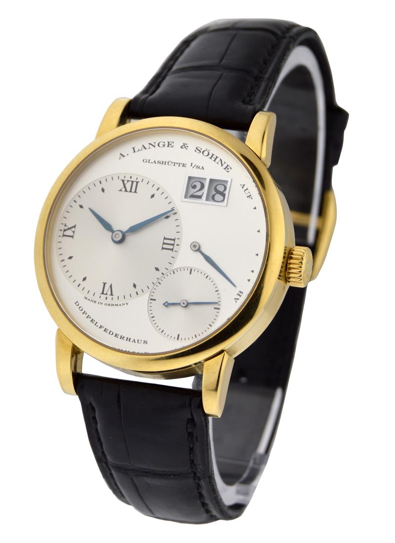 A. Lange & Sohne Little Lange 1 in Yellow Gold