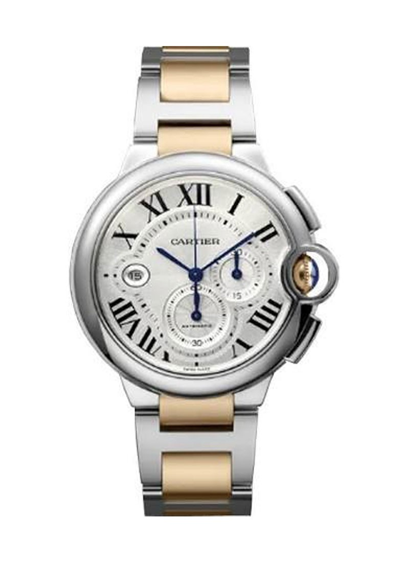 Cartier Ballon Bleu de Cartier Chronograph XL - Two Tone