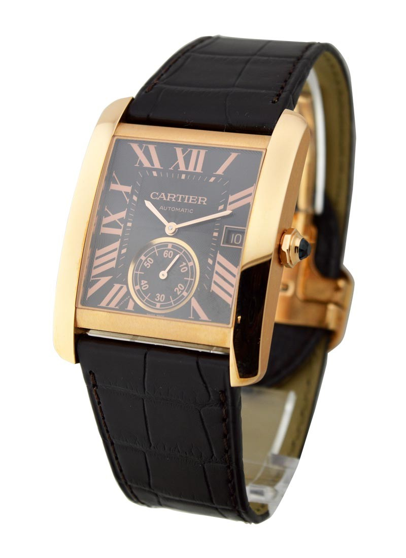 Cartier Tank MC Mechanical in Rose Gold
