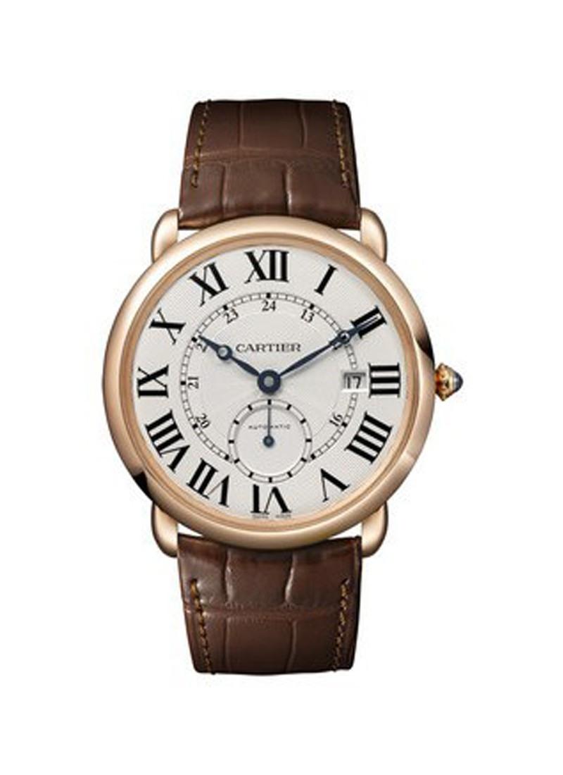 Cartier Ronde Louis Cartier mens 40mm Automatic in Rose Gold