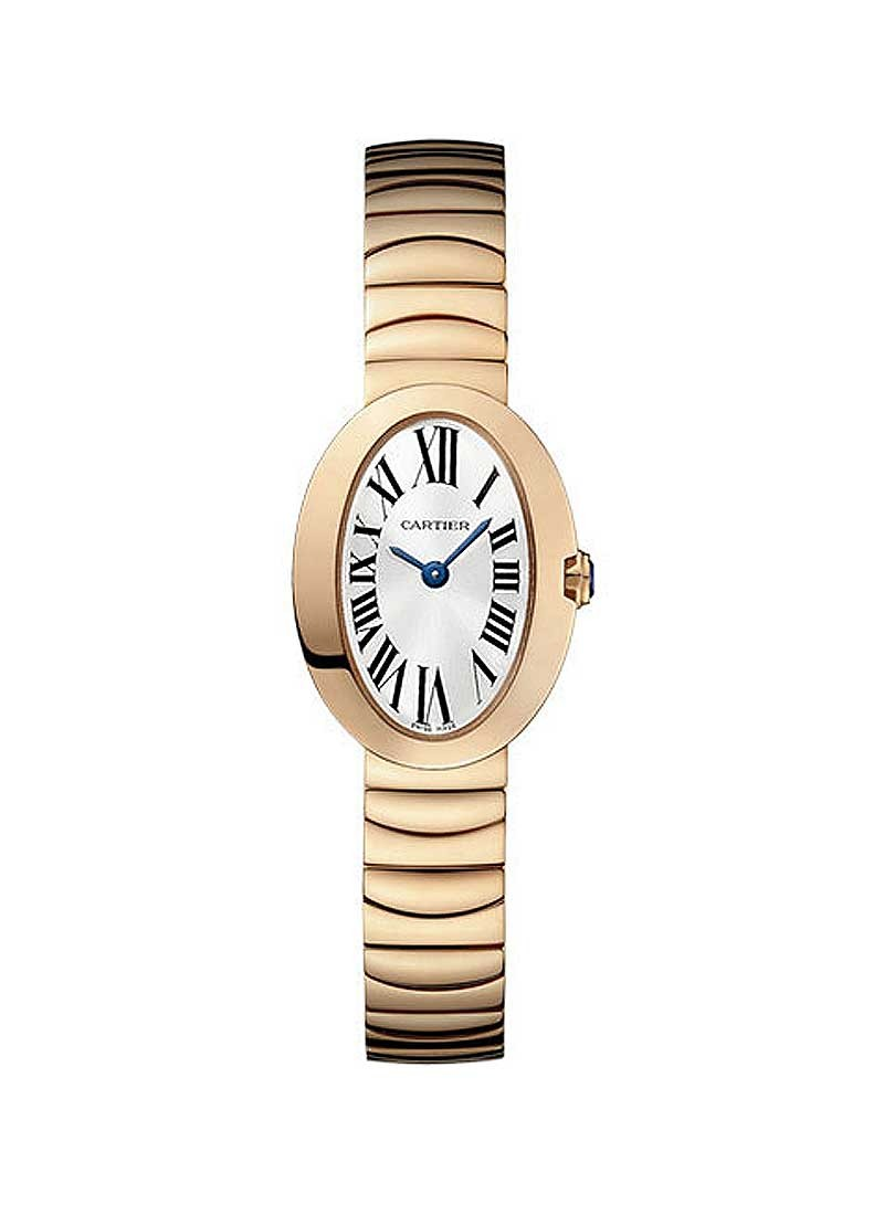 Cartier Baignore Mini Ladies Quartz in Rose Gold
