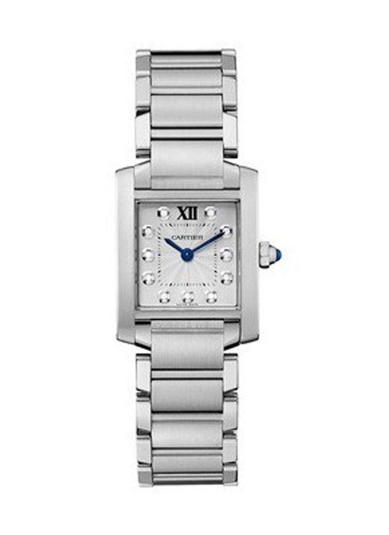 Cartier Tank Francaise Small Swiss Quartz in Steel