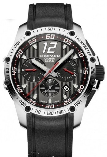 Chopard Classique Racing Chronograph Mens 45mm in Steel