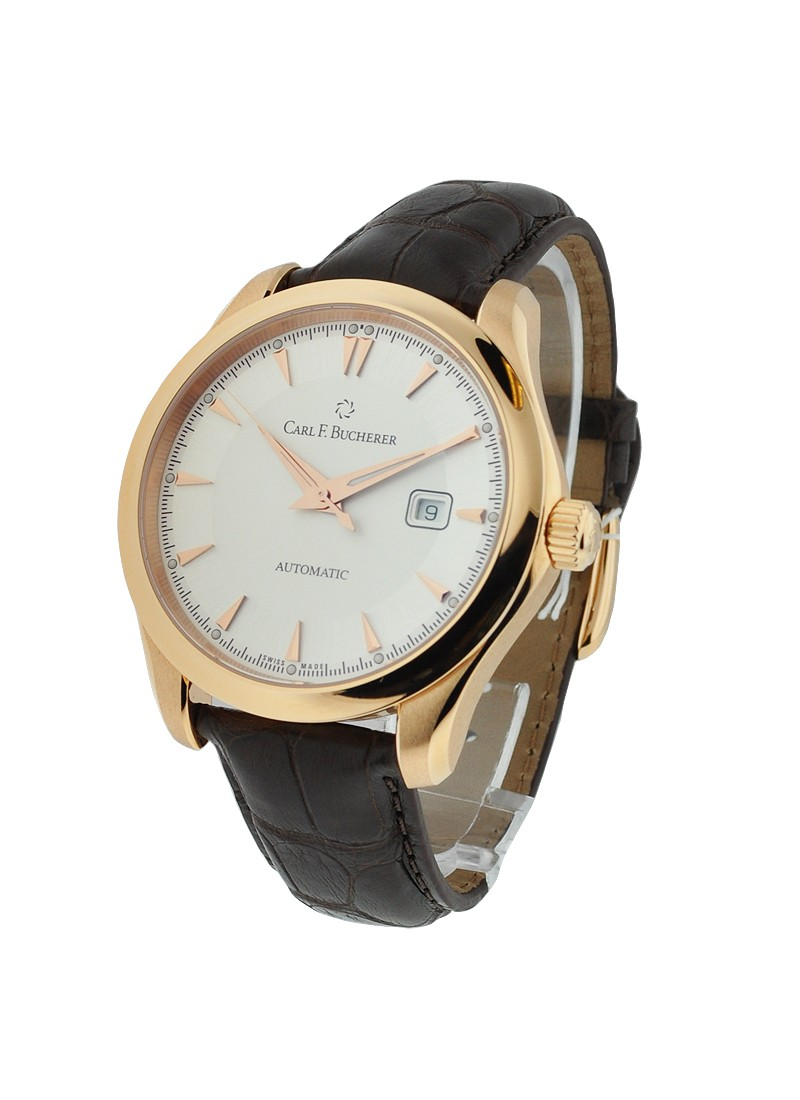 Carl F. Bucherer  Manero Autodate 42mm  in Rose Gold