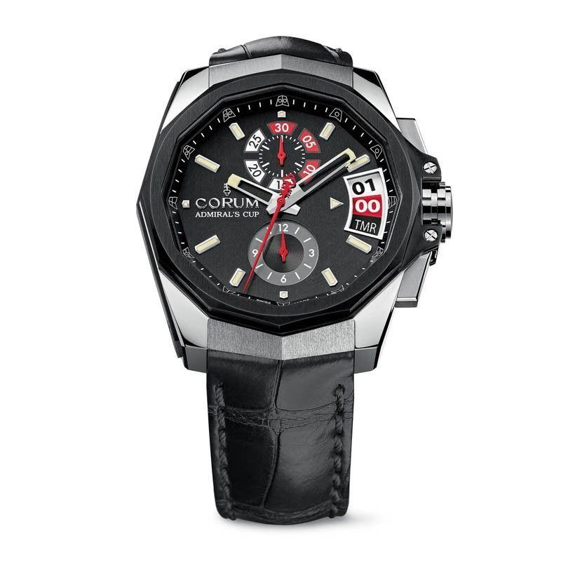 Corum Admirals Cup AC-1 45 Regatta in Titanium with Black PVD Bezel