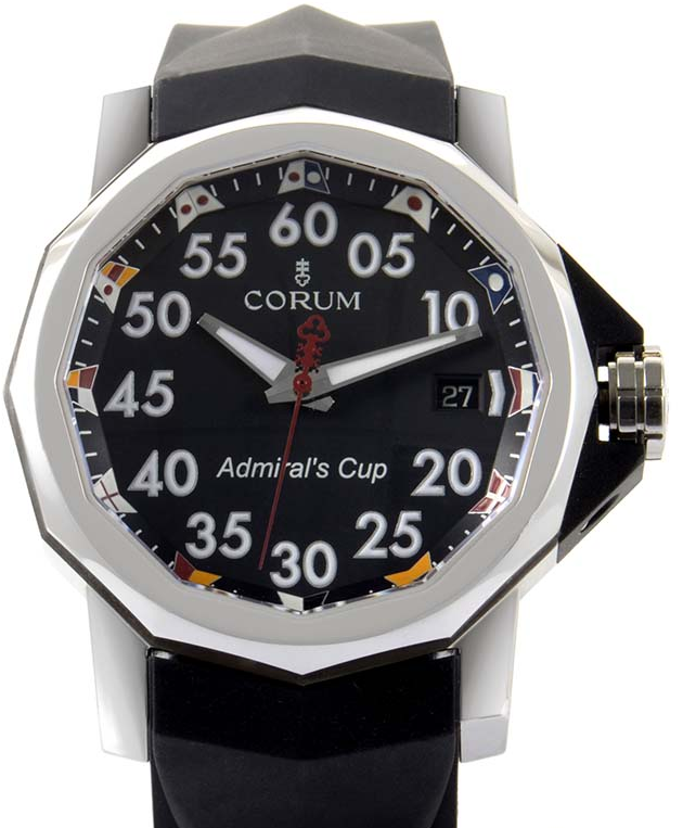 Corum Admirals Cup Competition 40mm in Steel
