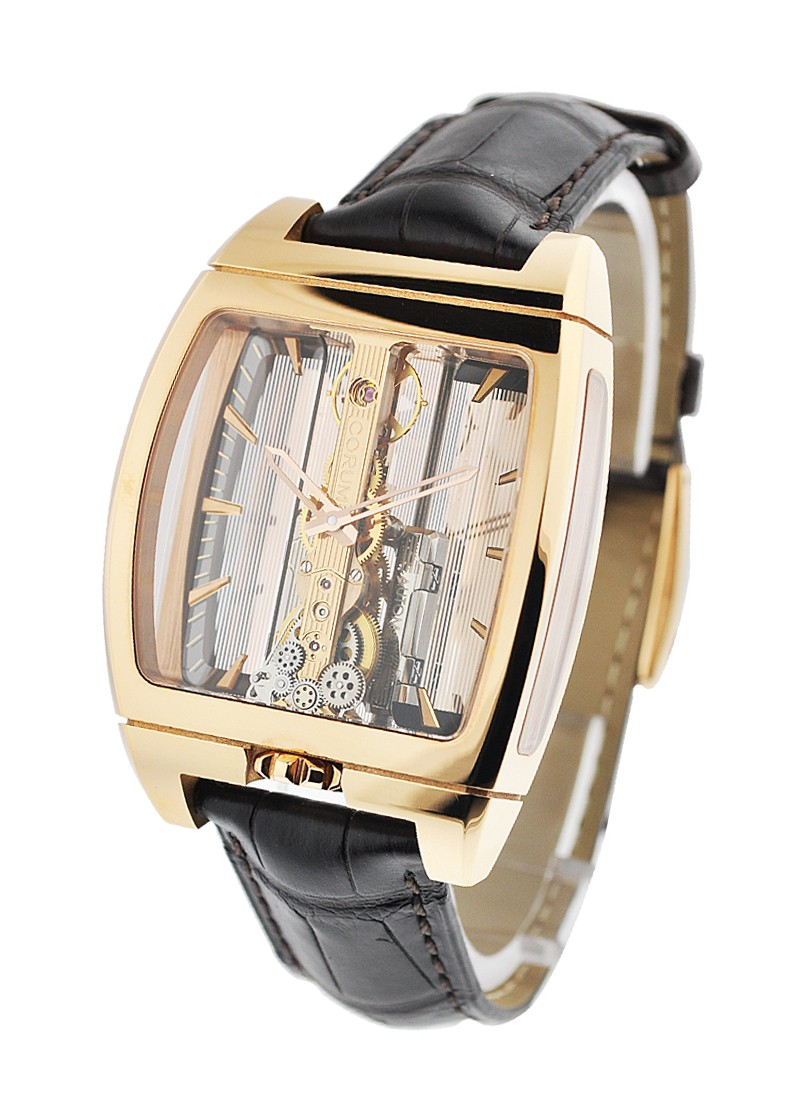 Corum Golden Bridge Mens Automatic in Rose Gold