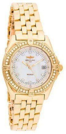 Breitling WIndrider Ladies in Yellow Gold