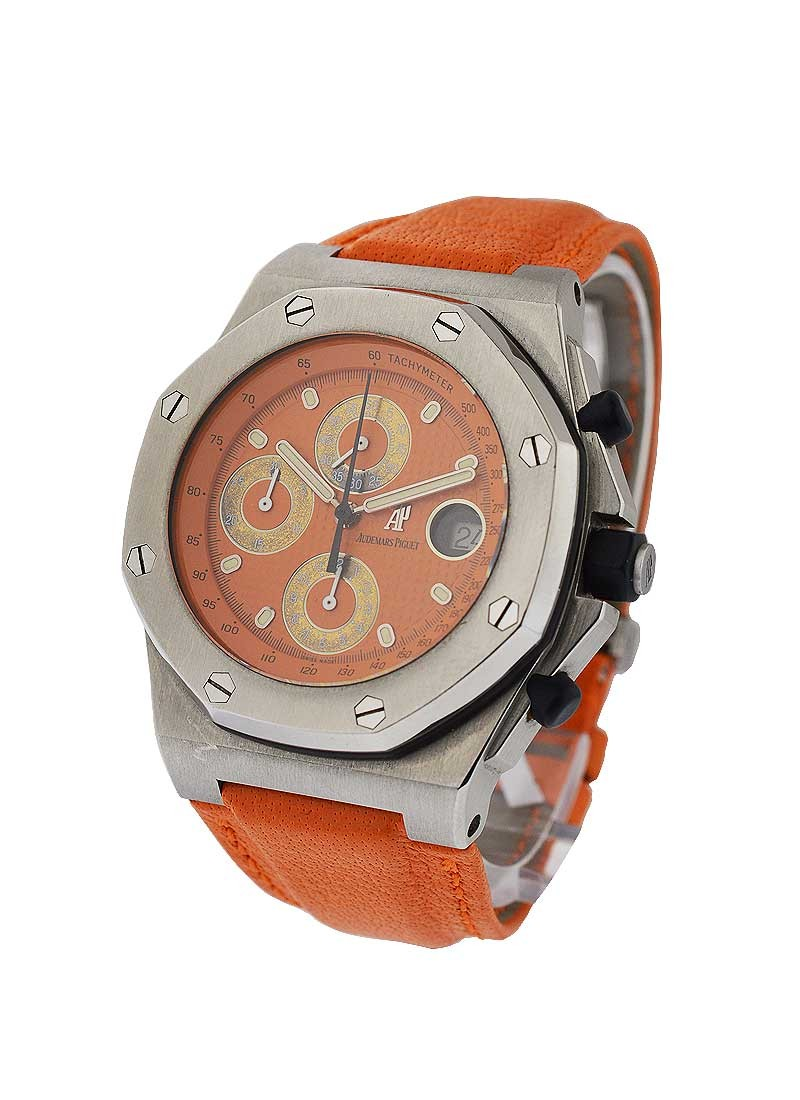 Audemars Piguet Offshore Royal Oak Chronograph on Orange Strap