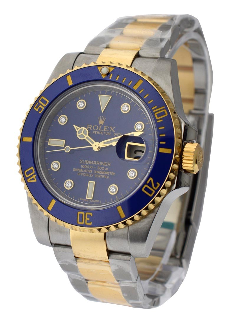 Rolex Used 116613  New Style 2 Tone Sub