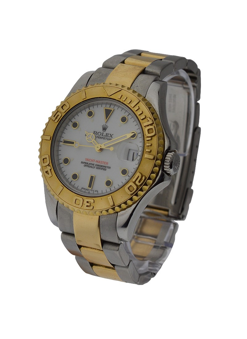 Pre-Owned Rolex Yacht-Master 2-Tone Mid Size 35mm