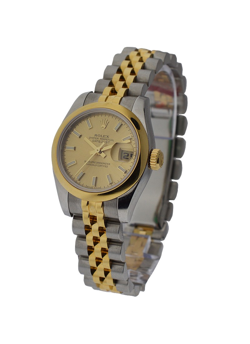 Rolex Used Datejust 26mm 2 Tone 179163