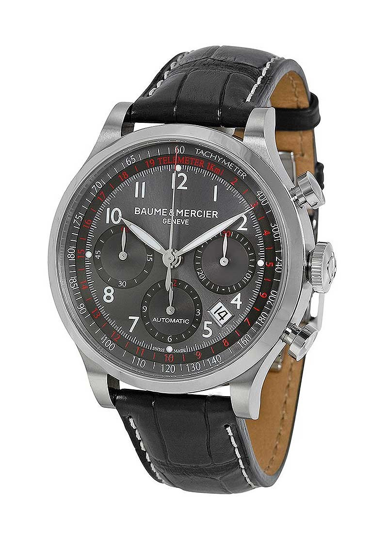 Baume & Mercier Capeland Mens 42mm Chronograph in Steel