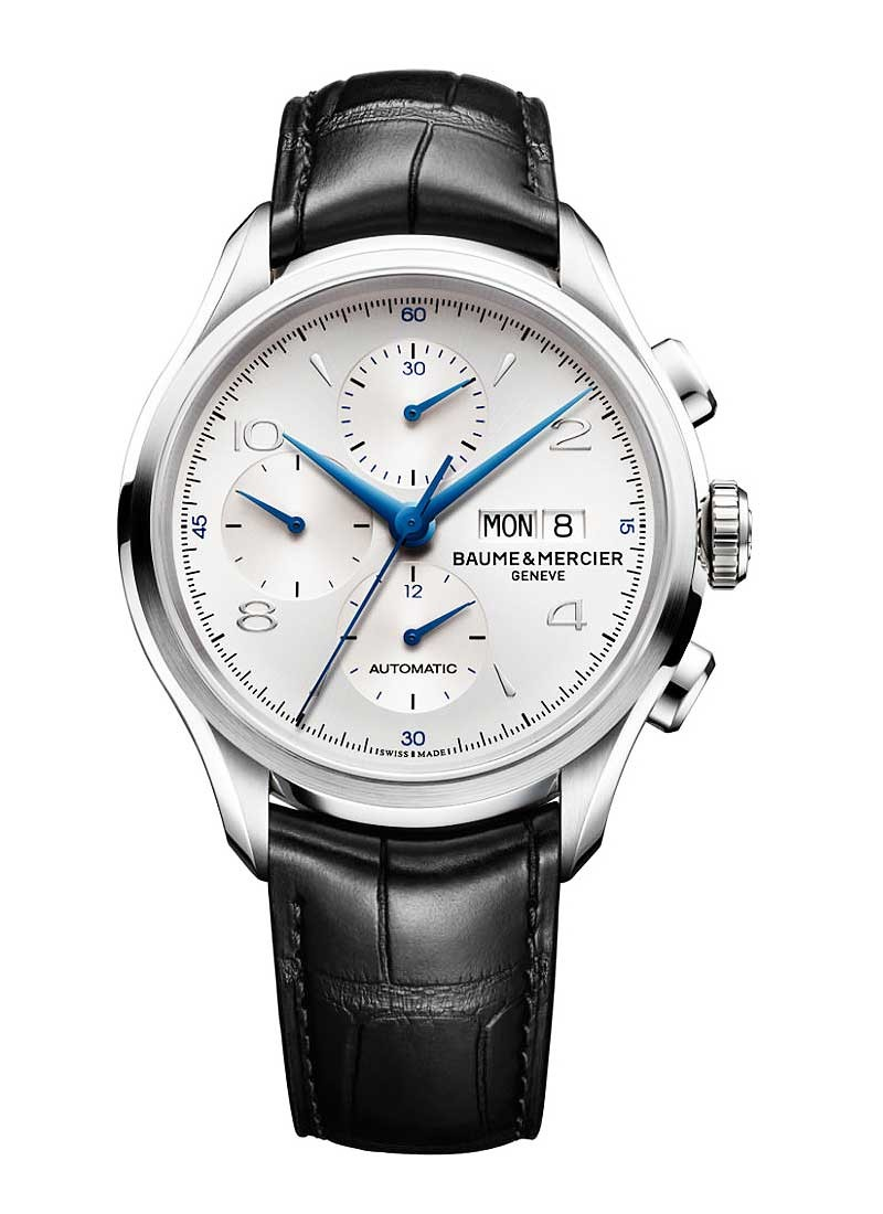 Baume & Mercier Clifton 43mm Automatic Chronograph in Steel
