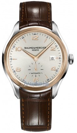 Baume & Mercier Clifton Small Seconds 42mm in 2 Tone